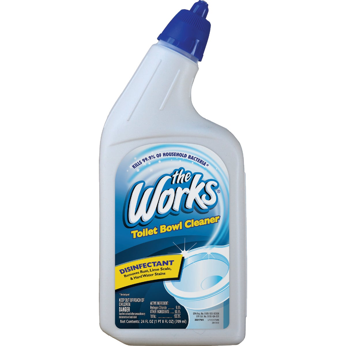 TOILET BOWL CLEANER - 33317 by Homecare Labs/ Works