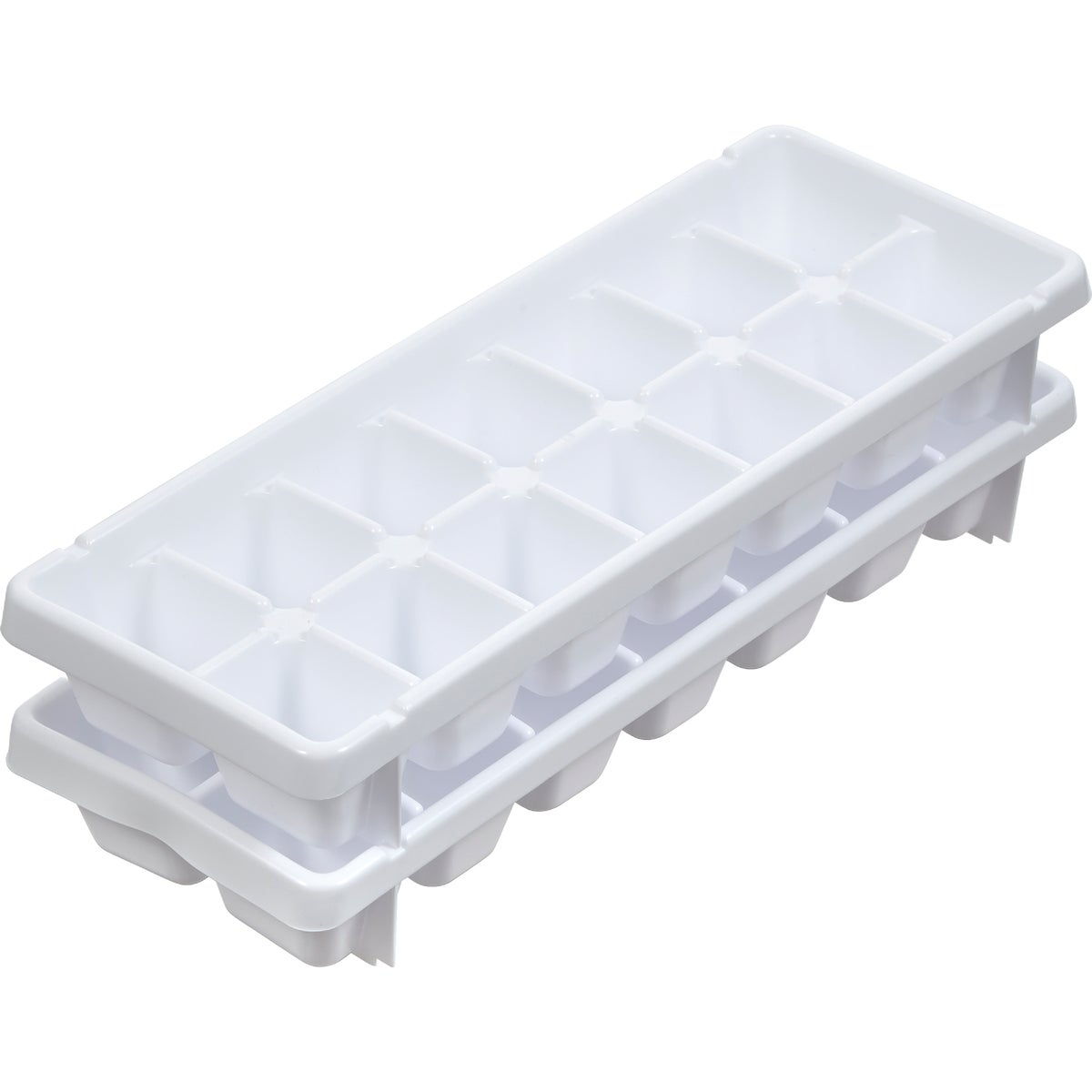 2 ICE CUBE TRAYS - 00050 by Arrow Plastic Mfg Co