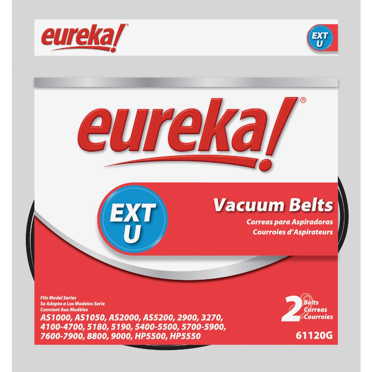 EXT U VAC CLEANER BELT