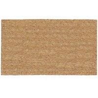 USCOA Intl NATURAL TAN DOORMAT 21562