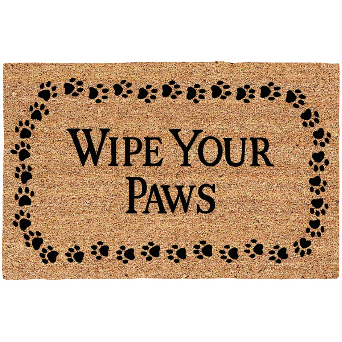 WIPE YOUR PAWS DOORMAT - 31801 by Uscoa Llc