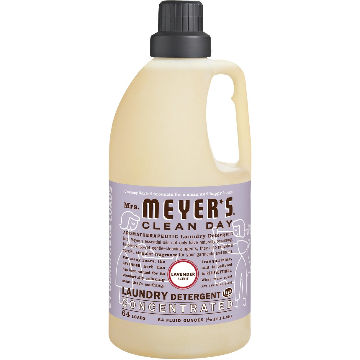 Mrs Meyer's Clean Day Concentrated Laundry Detergent, 14531