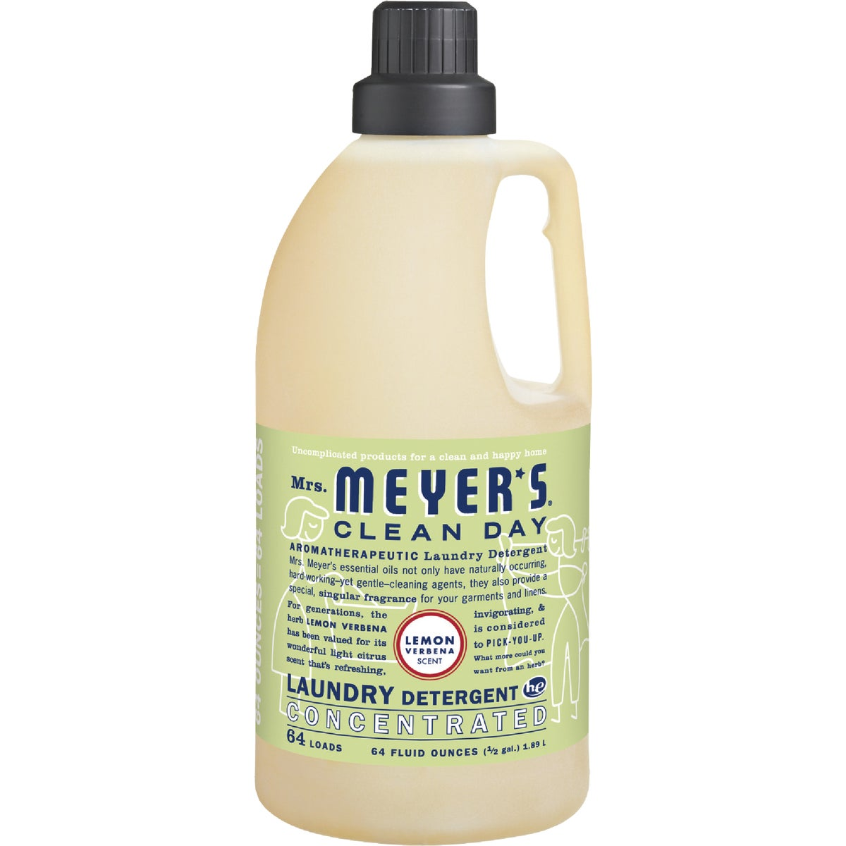 LEMON LAUNDRY DETERGENT - 14631 by Mrs Meyers Clean Day
