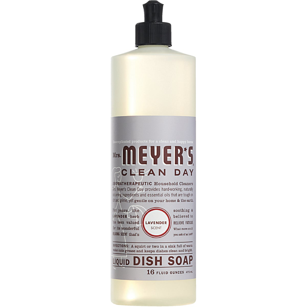 16OZ LAV LIQ DISH SOAP - 11103 by Mrs Meyers Clean Day