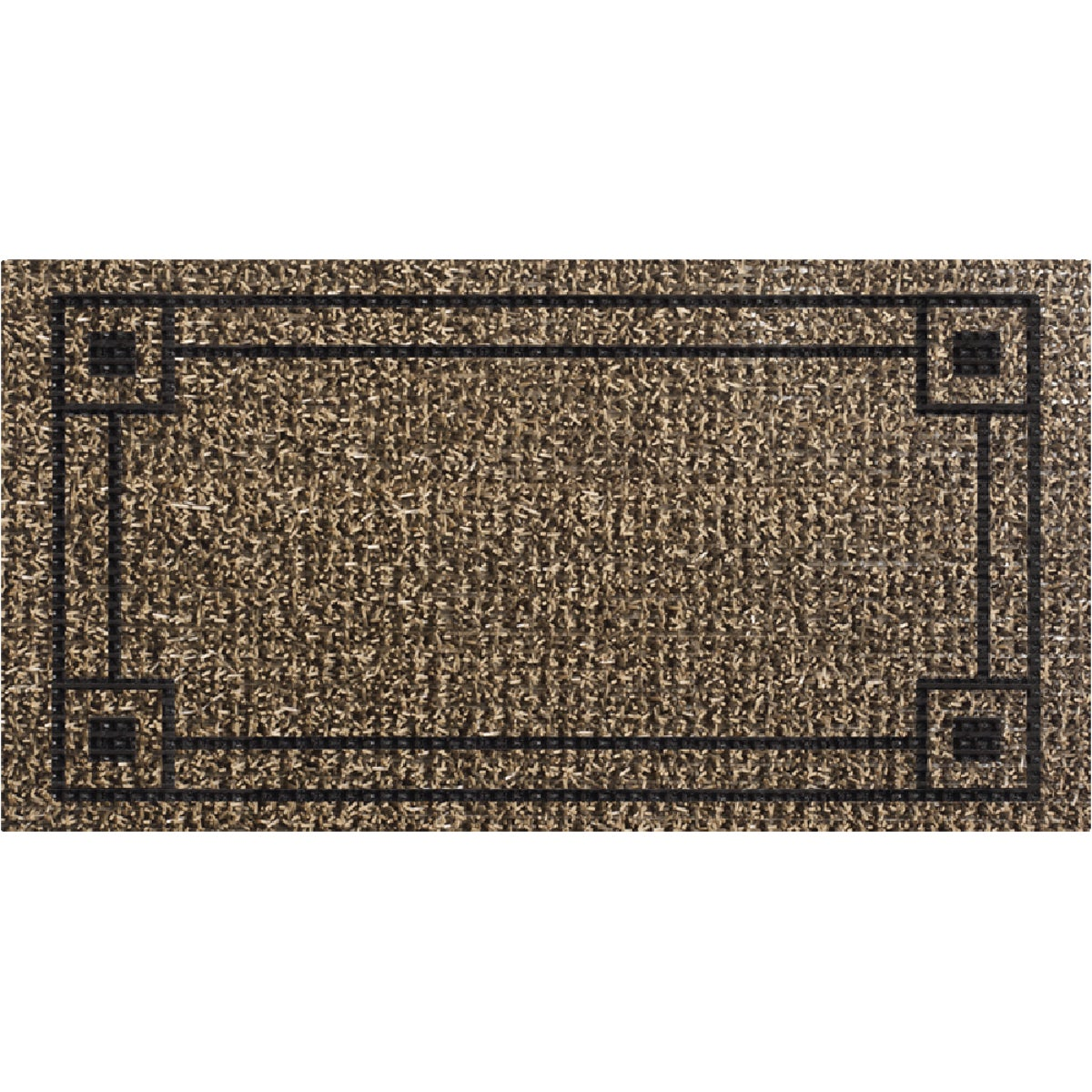 CHARCOAL DOORMAT - 10270036 by Grassworx