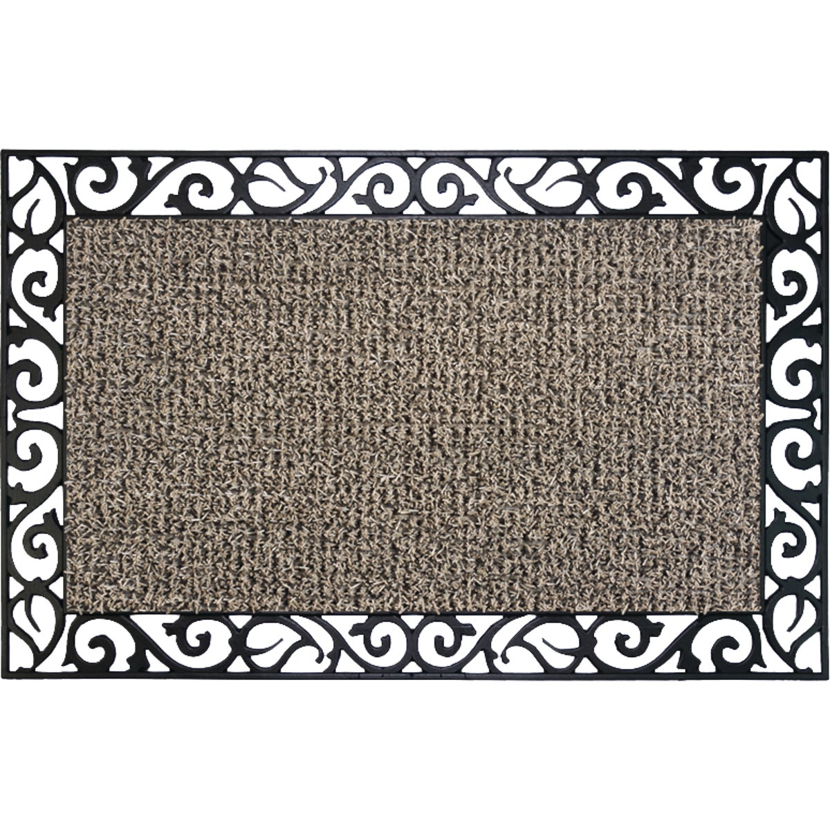 17.5X29.5 TAUPE DOOR MAT - 10267307 by Grassworx