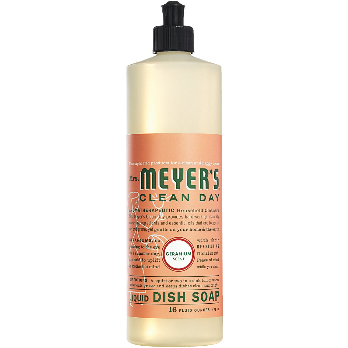 Mrs Meyers Clean Day FLORAL LIQ DISH SOAP 13103