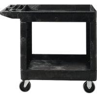 Rubbermaid Comm. BLACK UTILITY CART FG450500BLA