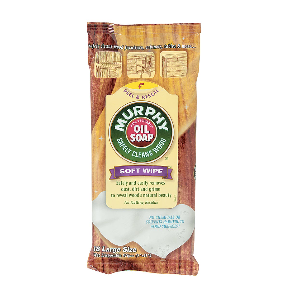 Murphy Oil Soap Wood Cleaning Wipes, CPC25902PK