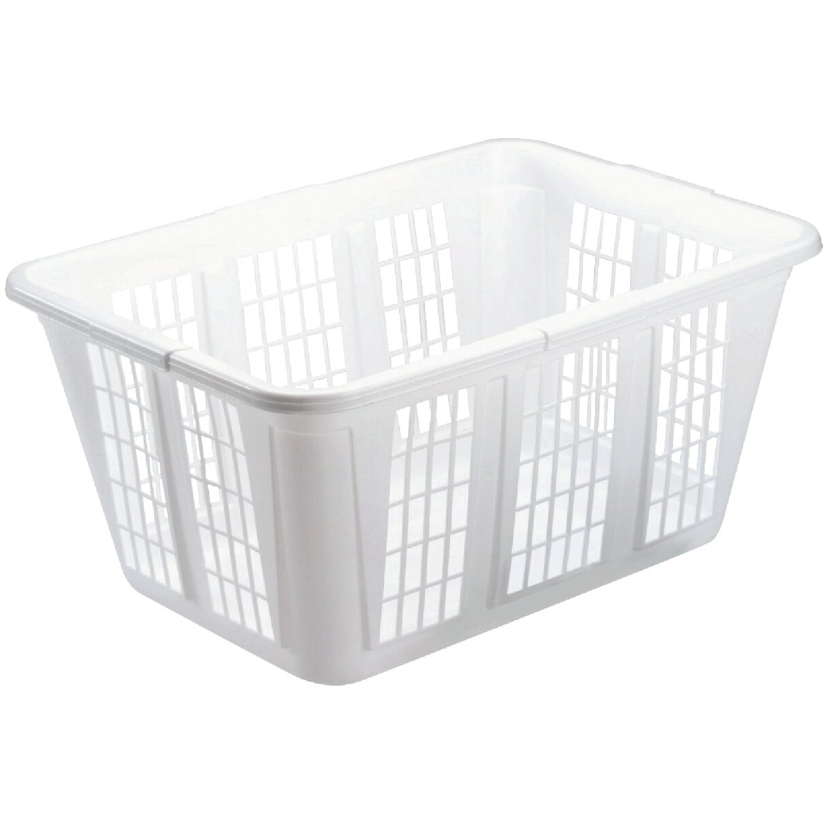 WHITE LAUNDRY BASKET - 296585WHT by Rubbermaid Home