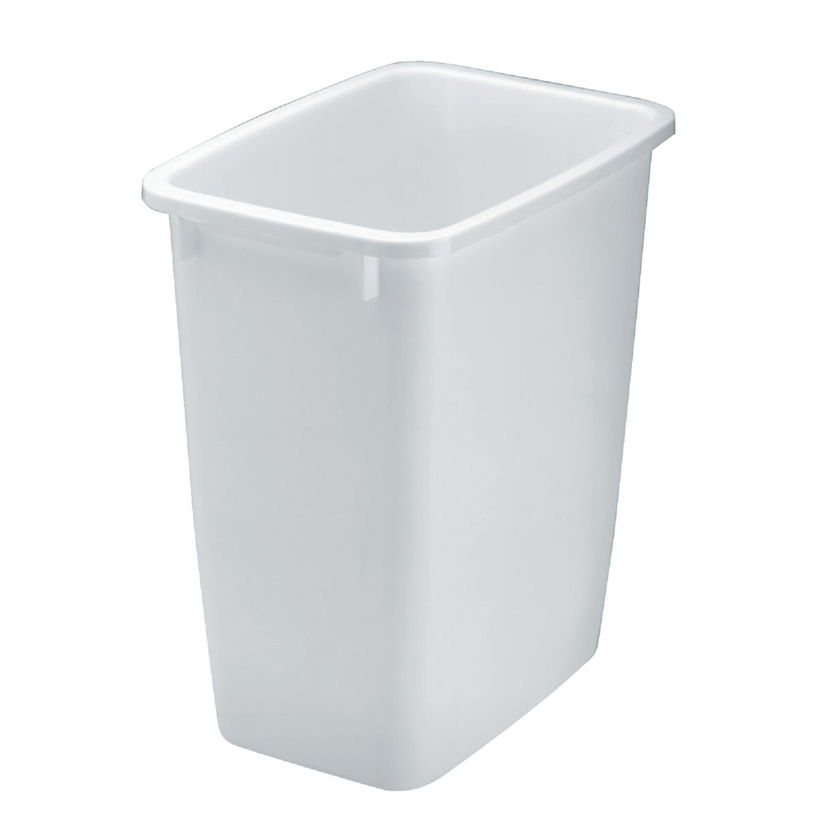 21QT WHITE WASTEBASKET - 280500-WHT by Rubbermaid Home