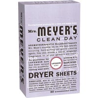 Mrs Meyers Clean Day LAVENDER DRYER SHEETS 14148