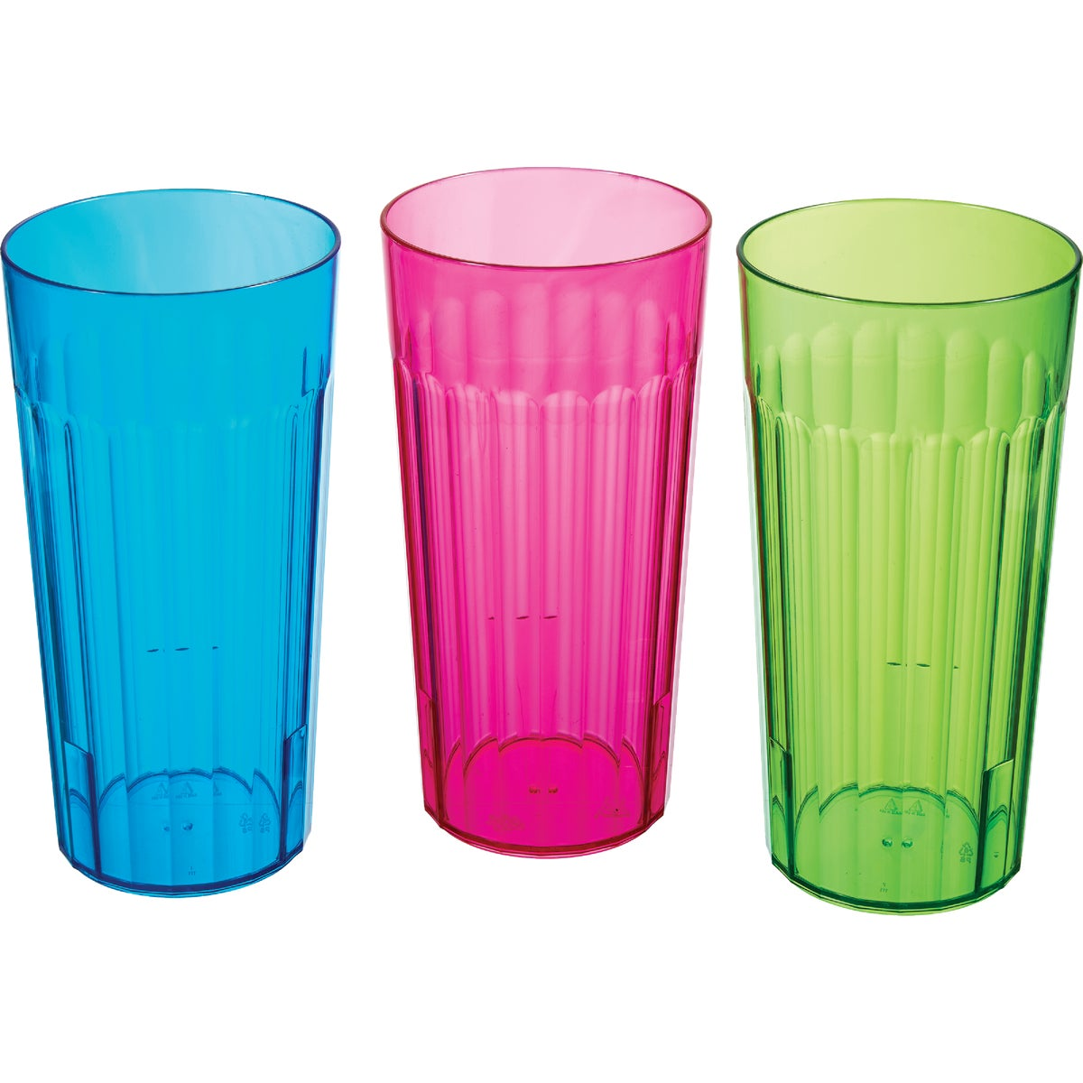 30OZ RAINBOW TUMBLER - 00111 by Arrow Plastic Mfg Co