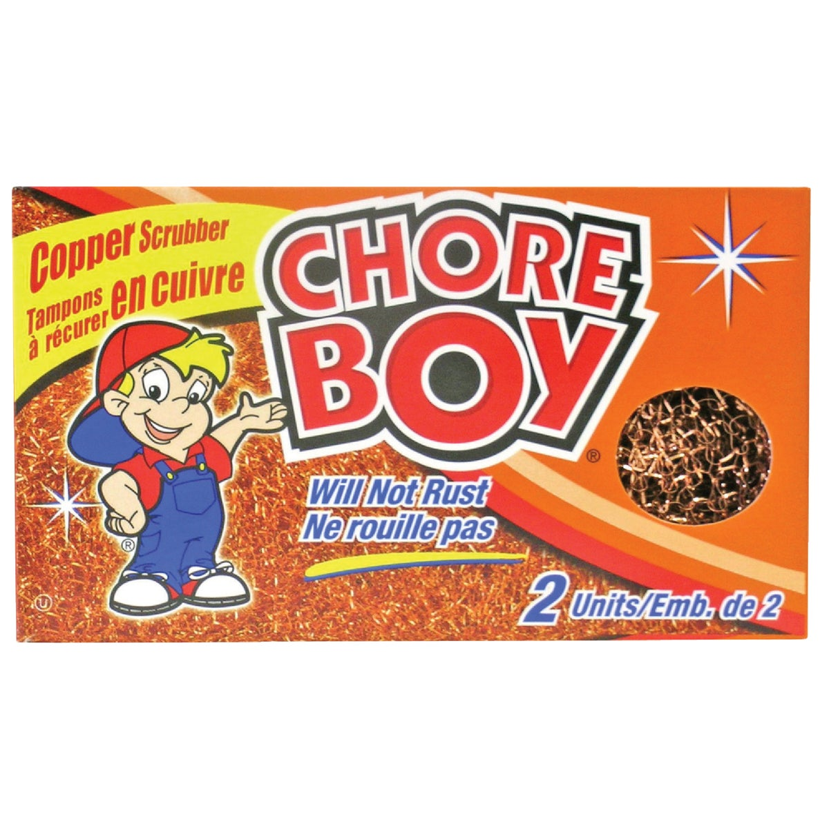 COPPER CHORE BOY - 00215 by Spic & Span Co