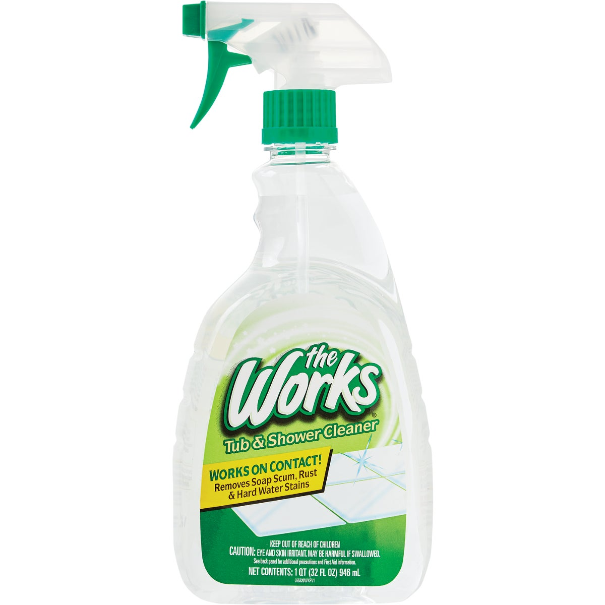 TUB/SHOWER WORKS CLEANER - 03381WK by Homecare Labs/ Works