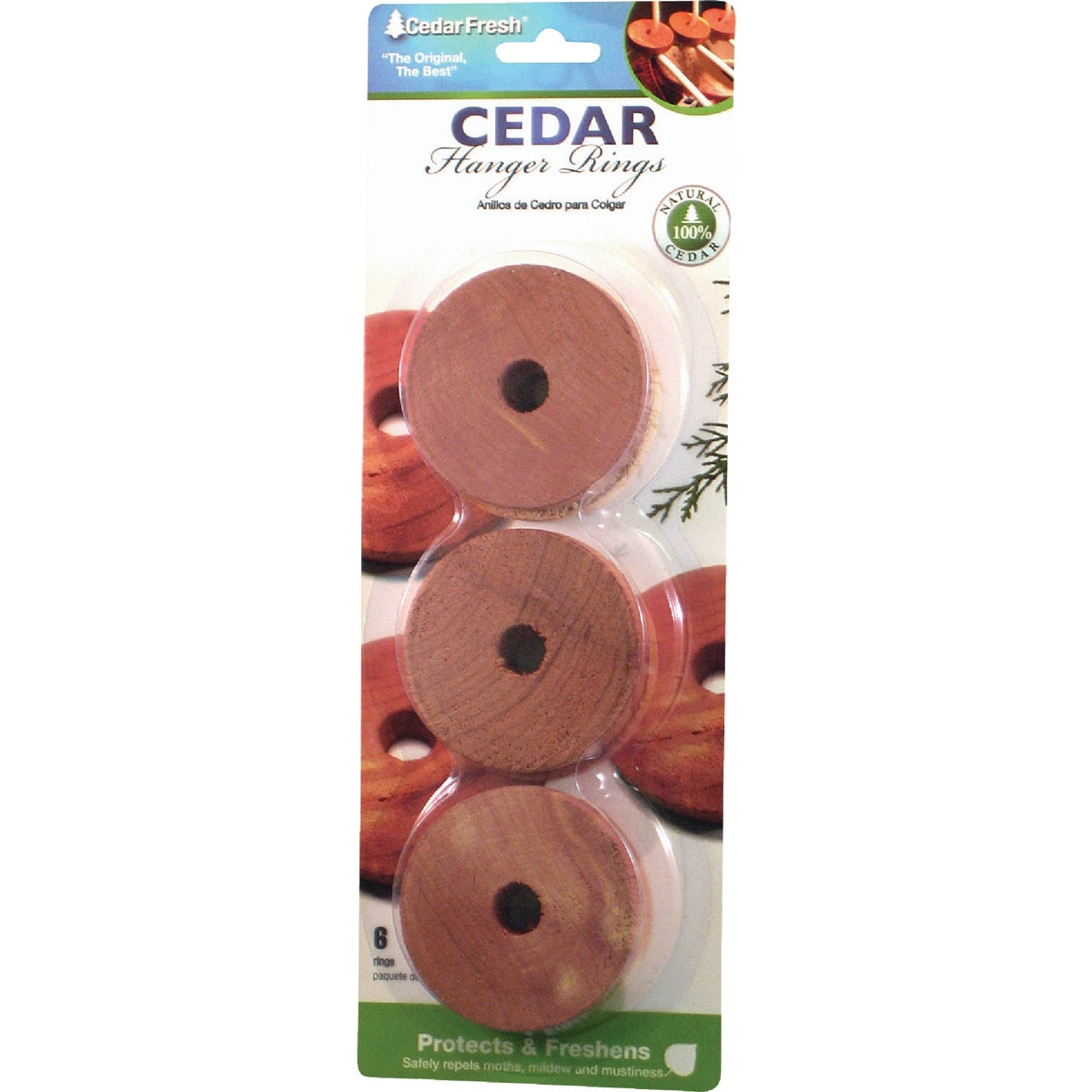 6PK CEDAR RINGS - 14306 by Household Essentials