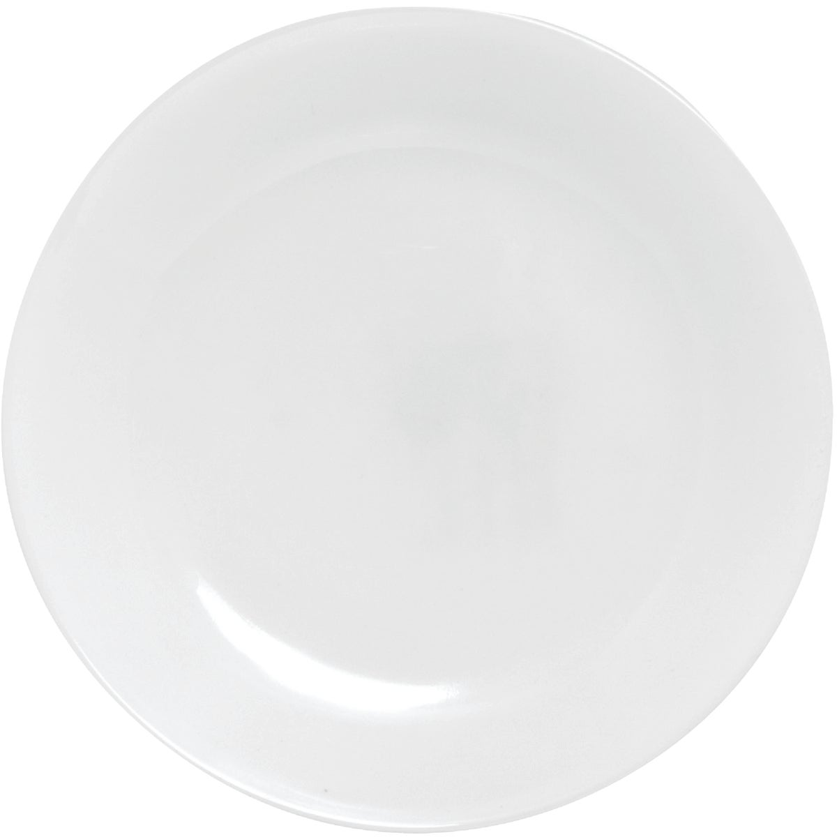 WHITE LUNCHEON PLATE