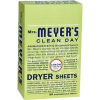 Mrs Meyers Clean Day LEMON DRYER SHEETS 14248