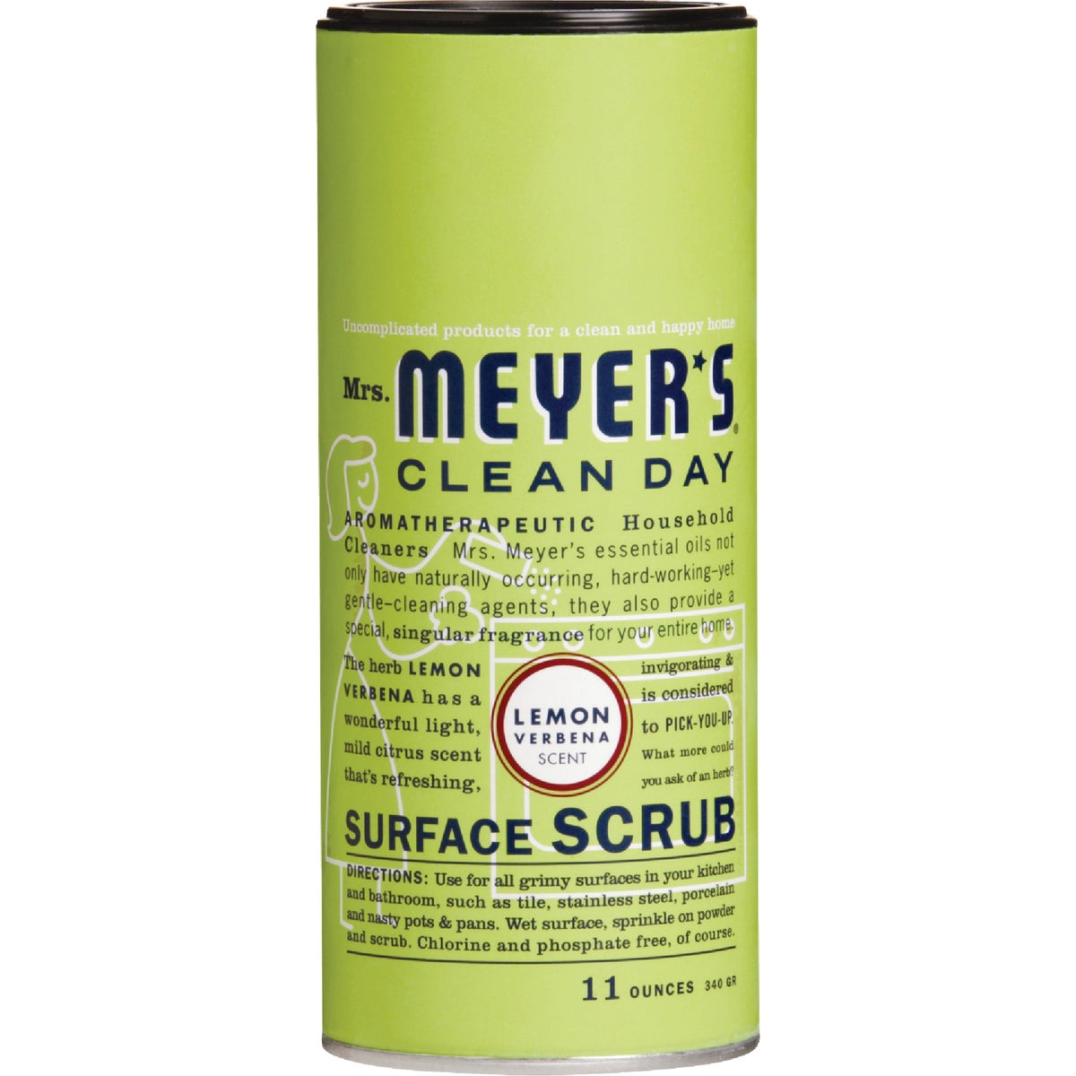 LEMON SURFACE SCRUB - 14236 by Mrs Meyers Clean Day