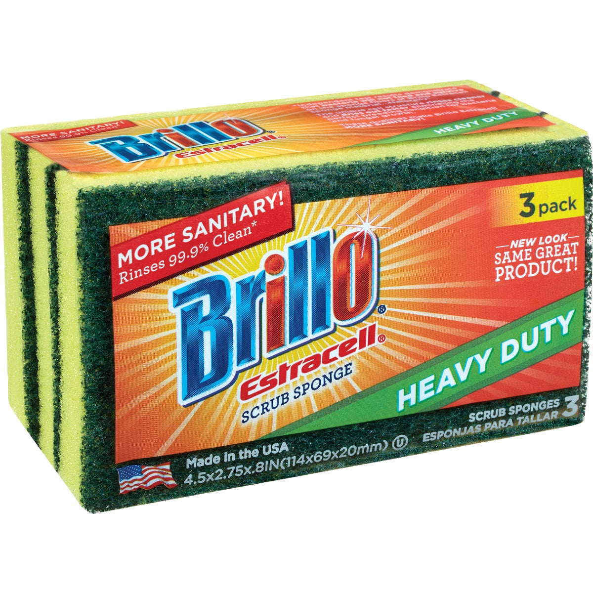 HEAVY DUTY SCRUBBER