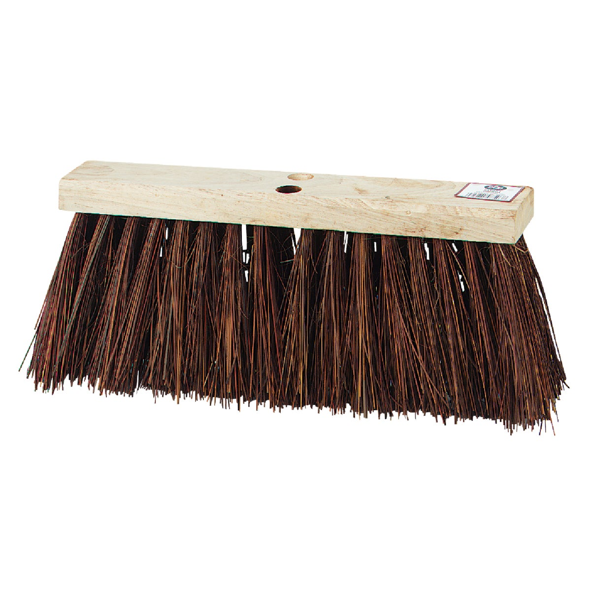 "16"" NATURAL PUSH BROOM - 08503 by D Q B Ind"