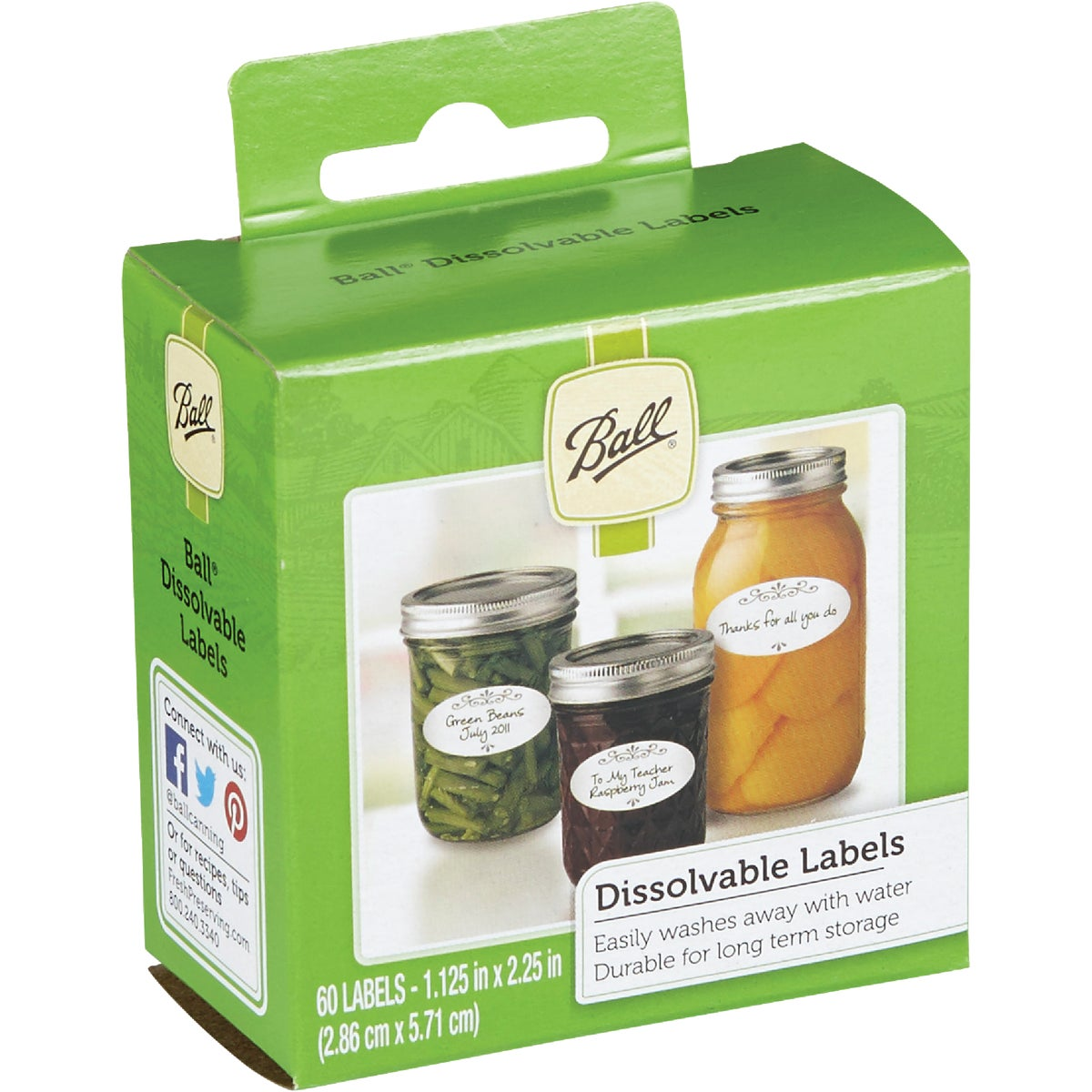 60CT DISSOLVABLE LABELS - 1440010734 by Jarden Home Brands