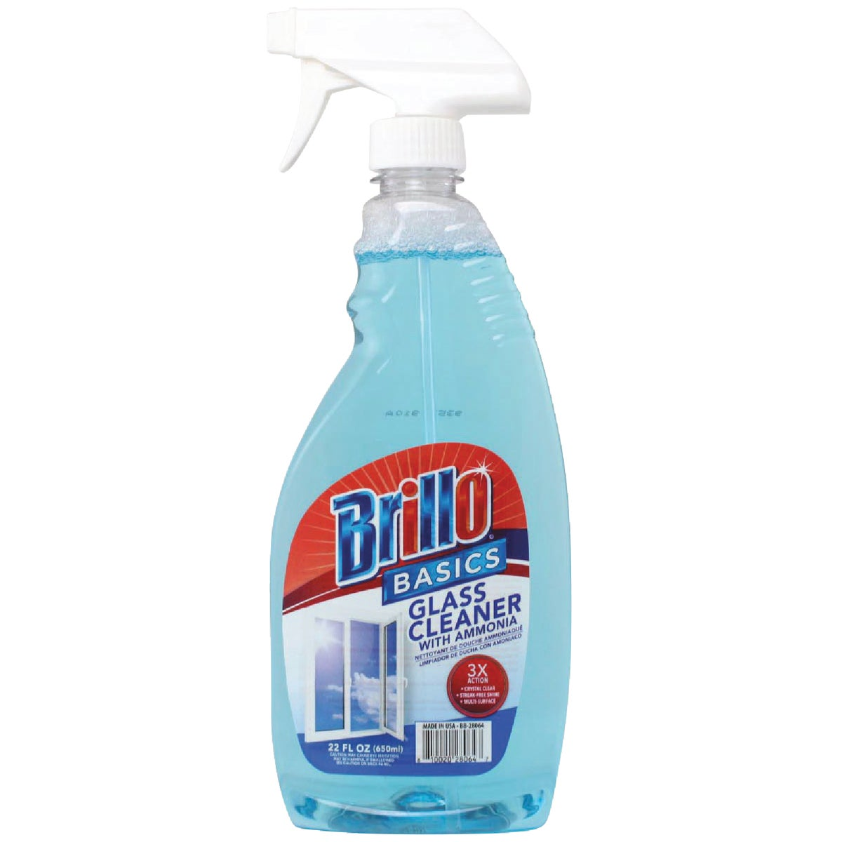 22OZ GLASS CLEANER - 90629 by Personal Care Prod