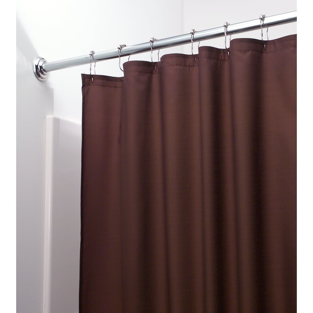 CHOC POLY SHOWER CURTAIN