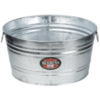 Behrens Hot-Dipped Round Utility Tub, 3