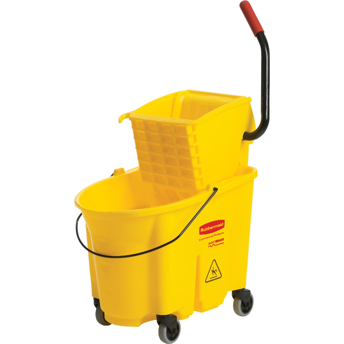 MOP BUCKET W/WRINGER - FG758088YEL by Rubbermaid Comm Prod