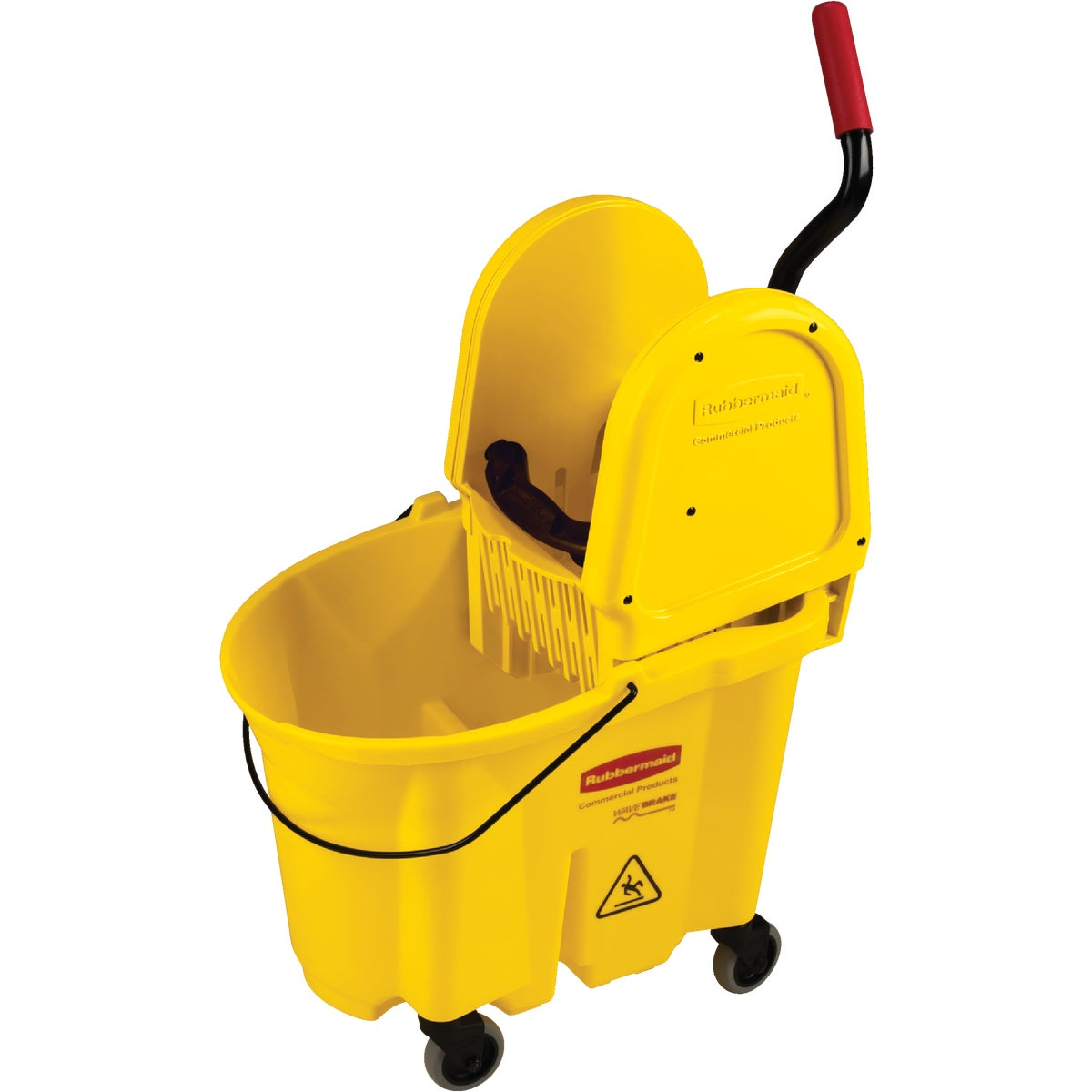 MOP BUCKET W/WRINGER - FG757788YEL by Rubbermaid Comm Prod