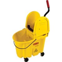 WaveBrake Down Press Combo Mop Bucket, FG757788YEL