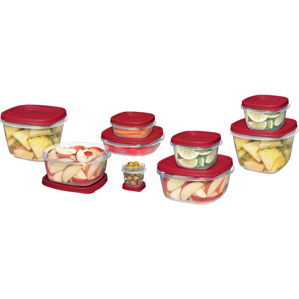 24PC FOOD STORAGE SET - 1779217 by Rubbermaid Home