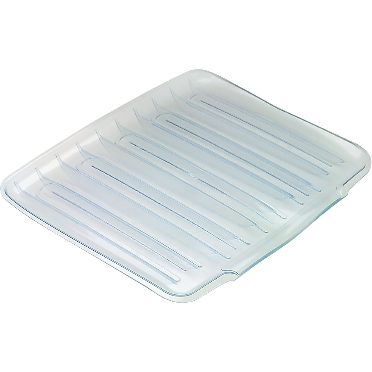 Rubbermaid SMALL CLEAR DRAINER TRAY 1180MACLR