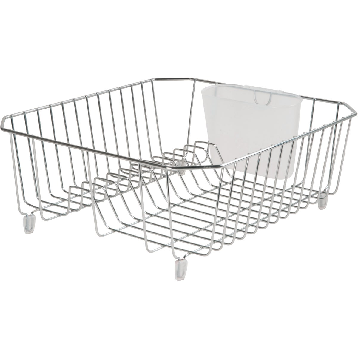 CHROME TWIN DISH DRAINER - 6008-AM-CHROM by Rubbermaid Home