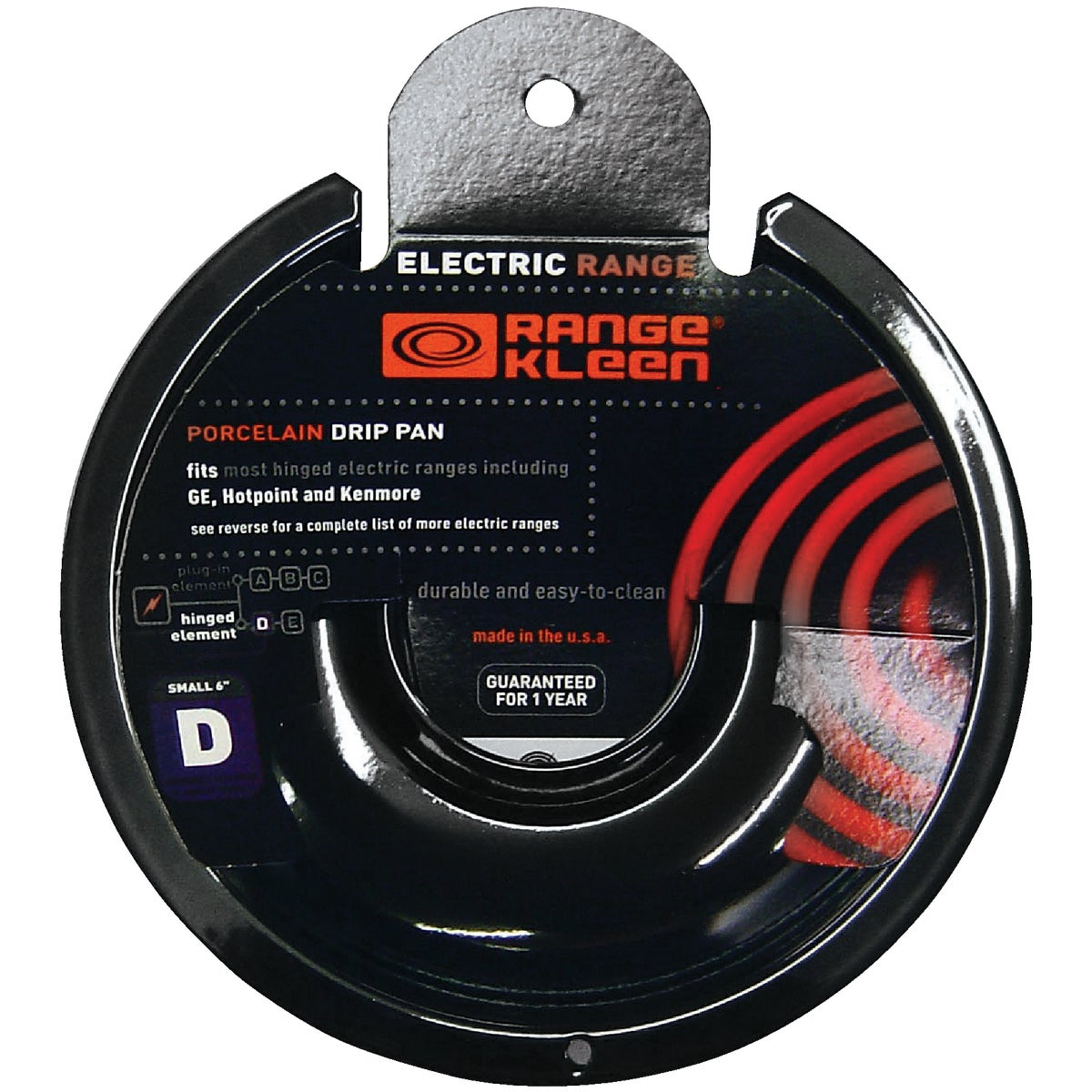 "6"" ELECTRIC DRIP PAN - P-105 by Range Kleen Mfg Inc"