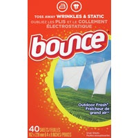 40Ct Bounce Dryer Sheets