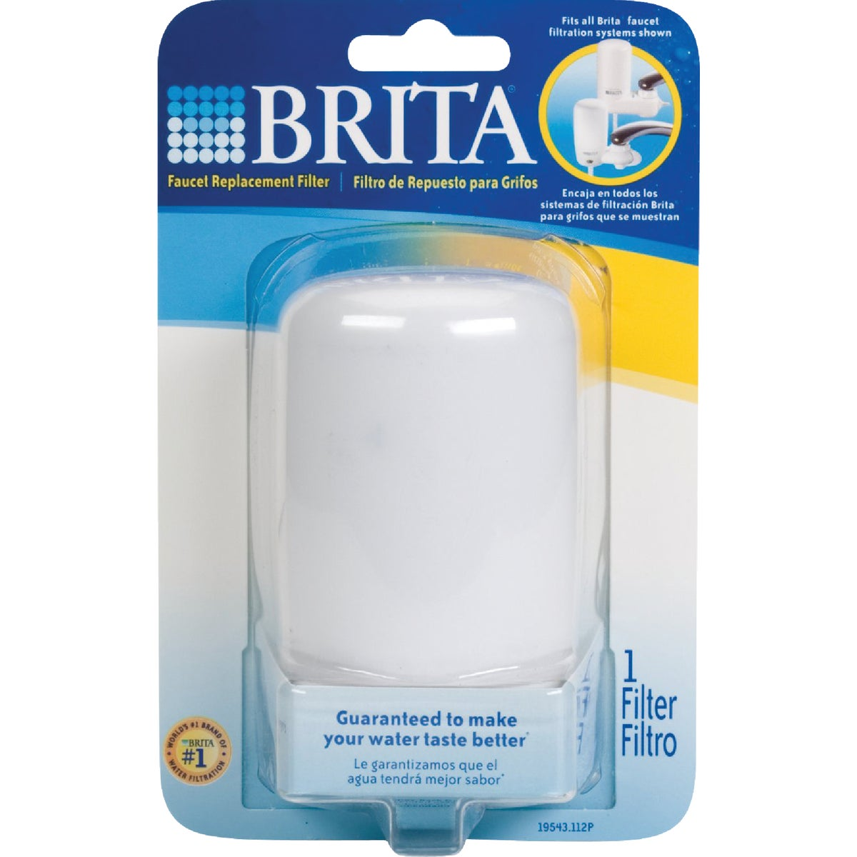 1PK PREPLACEMENT FILTER - 42401 by Brita Div Of Clorox