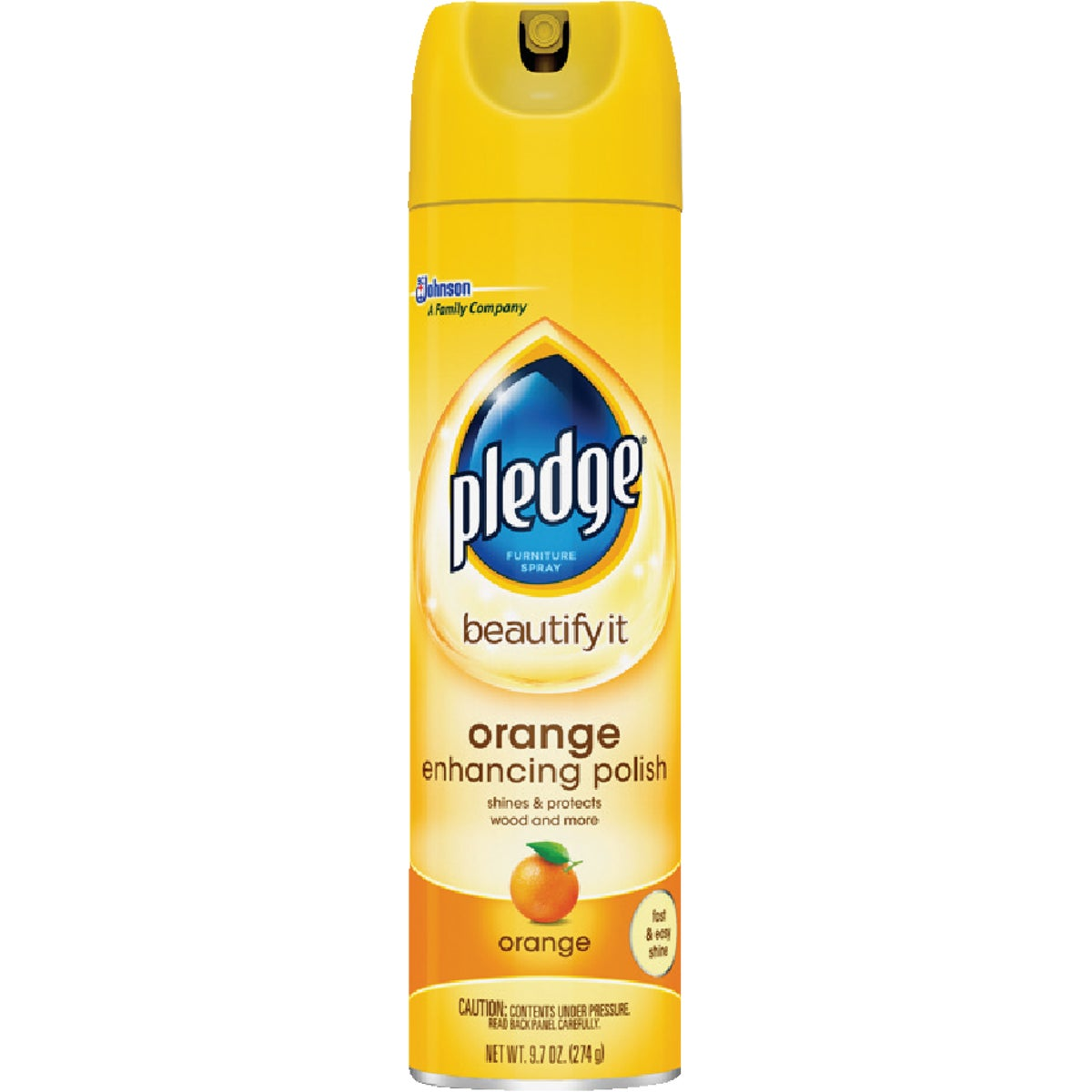 9.7OZ ORANGE PLEDGE