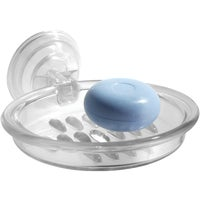 Interdesign CLEAR SUCTION SOAP DISH 51820