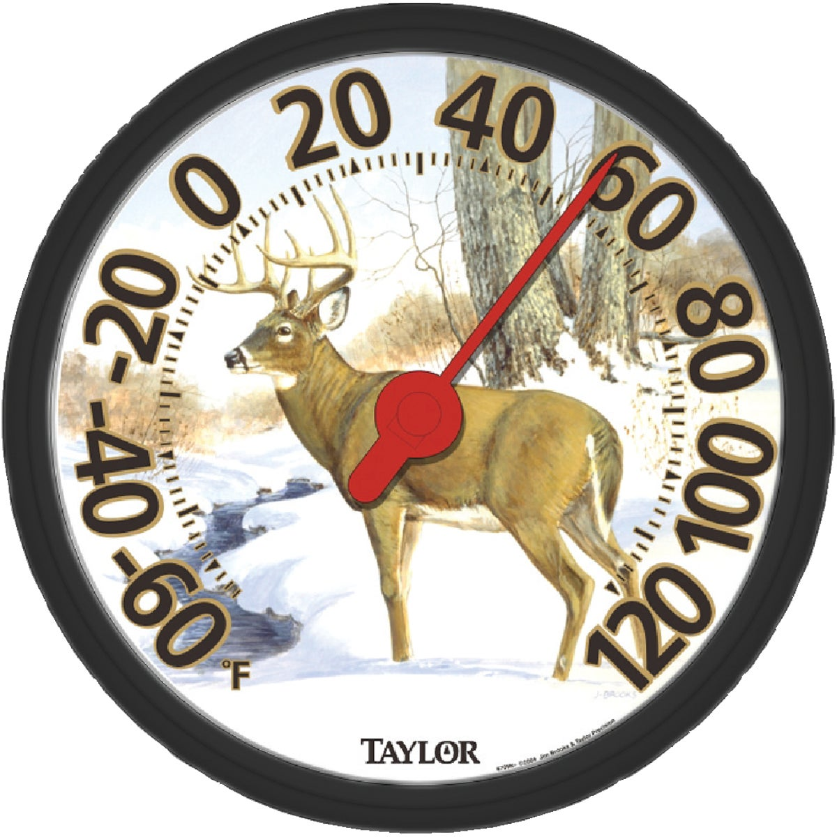 DEER DIAL THERMOMETER