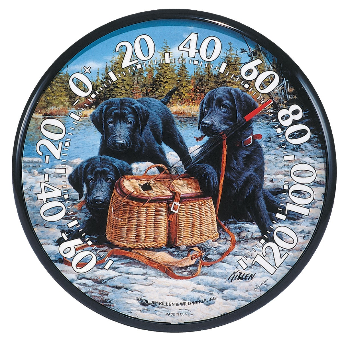 PUPPIES THERMOMETER - 01678 by Chaney Instrument Co