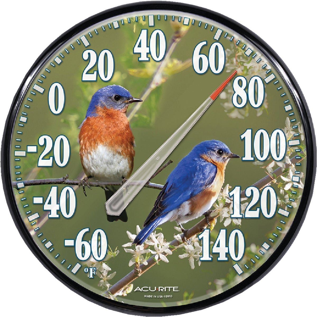 BLUEBIRD THERMOMETER - 01598A1 by Chaney Instrument Co