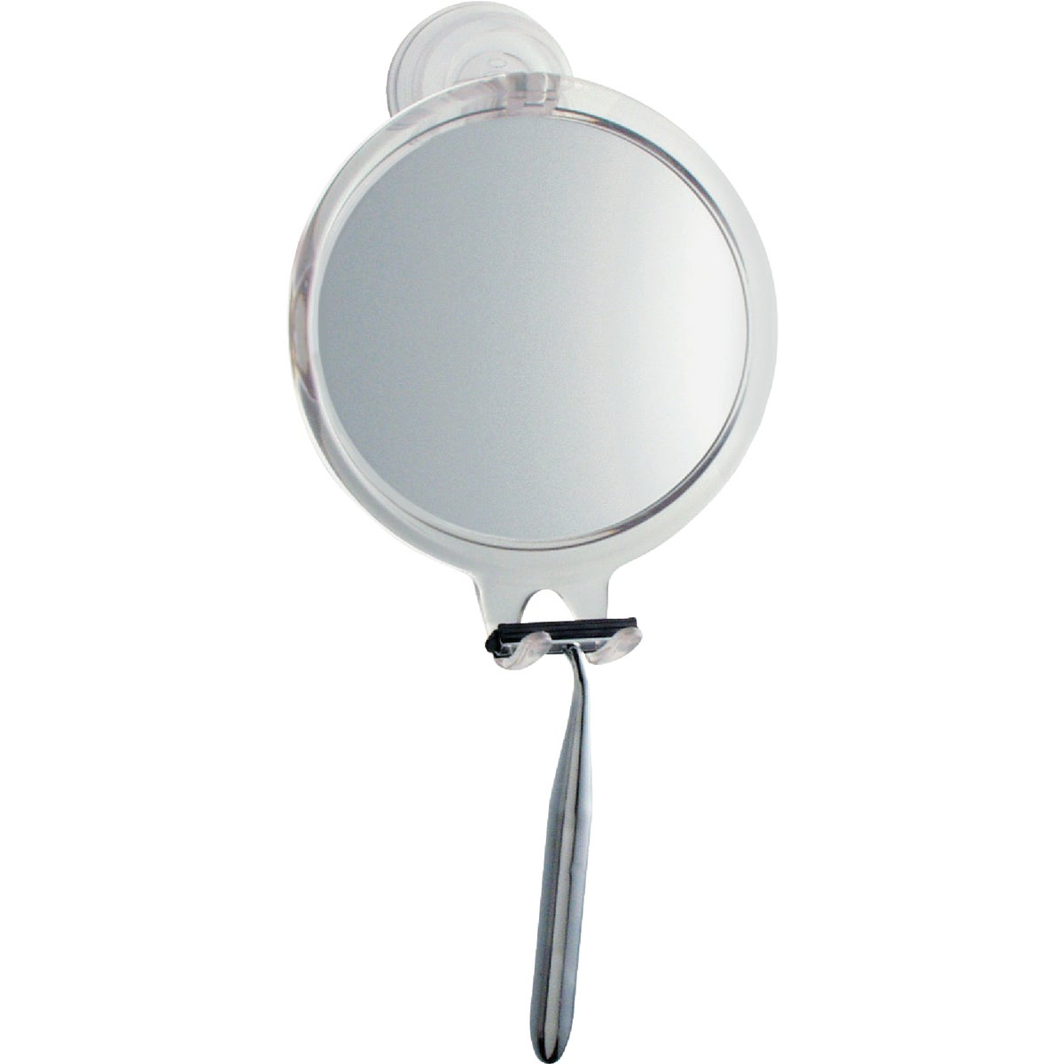 SUCTION FOG FREE MIRROR