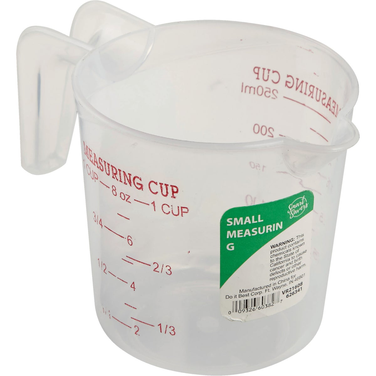 SMALL MEASURING CUP - KT624(ST) by Do it Best
