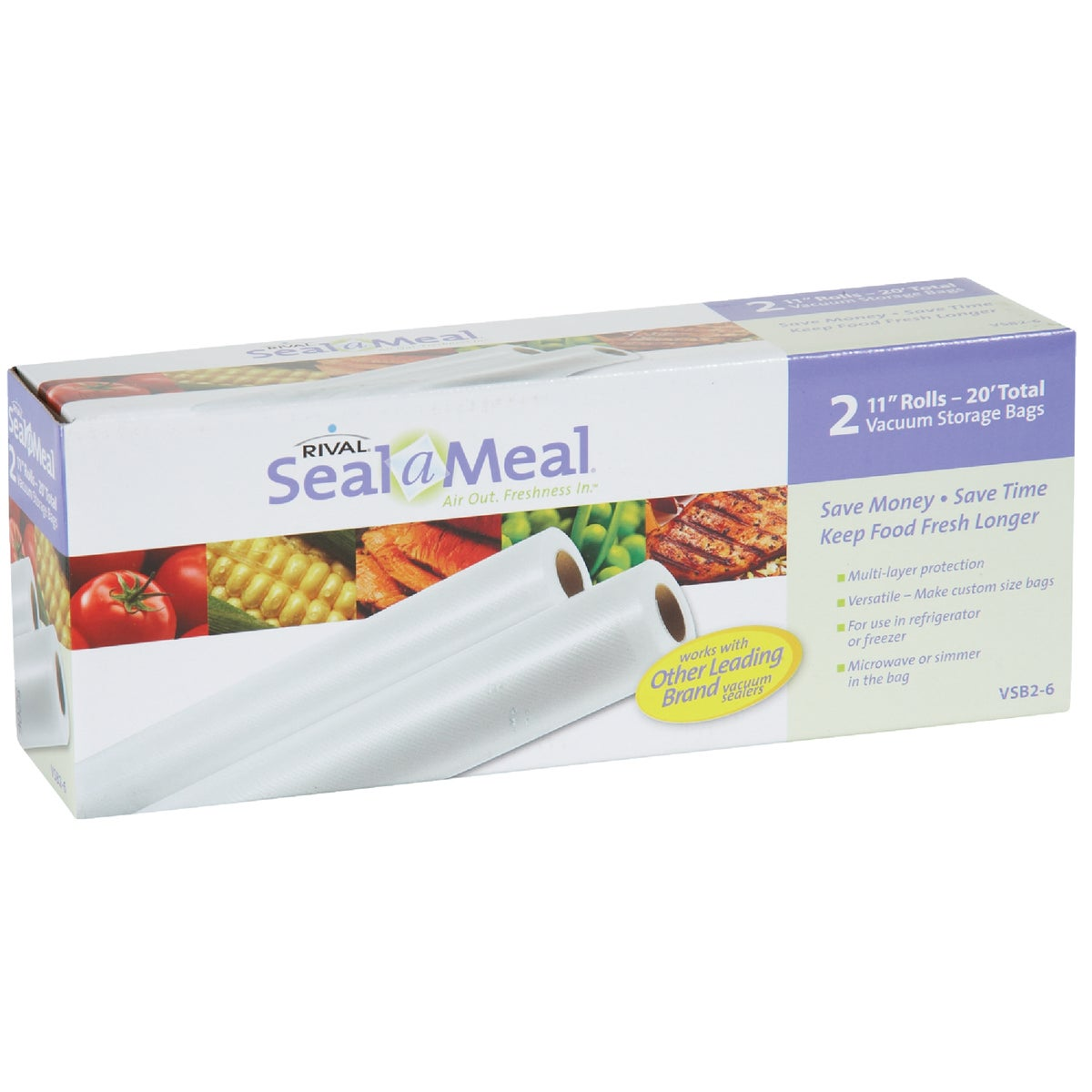 "2PK 11"" SEAL A MEAL ROLL"