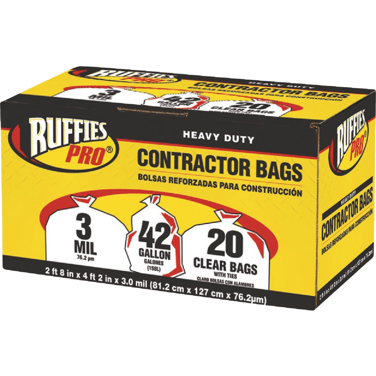 42GL/20CT CONTRCTR BAGS - 618898 by Berry Plastics