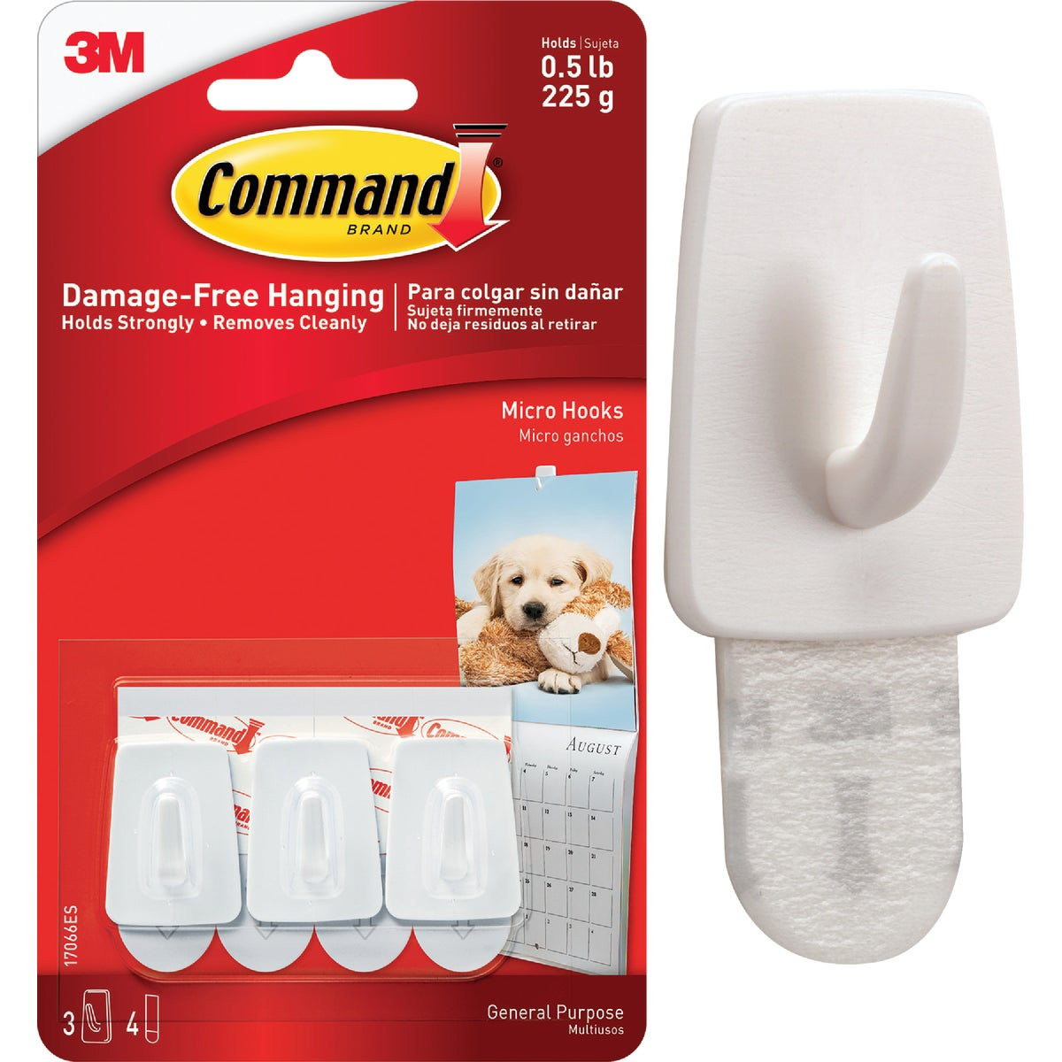 COMMAND MICRO HOOK - 17066 by 3m Co