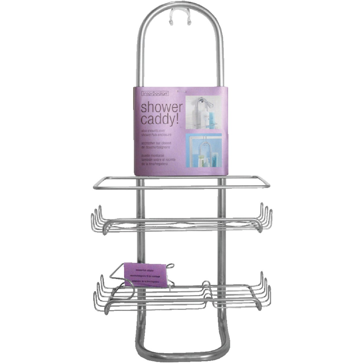 CHROME SHOWER CADDY - 60163 by Interdesign Inc