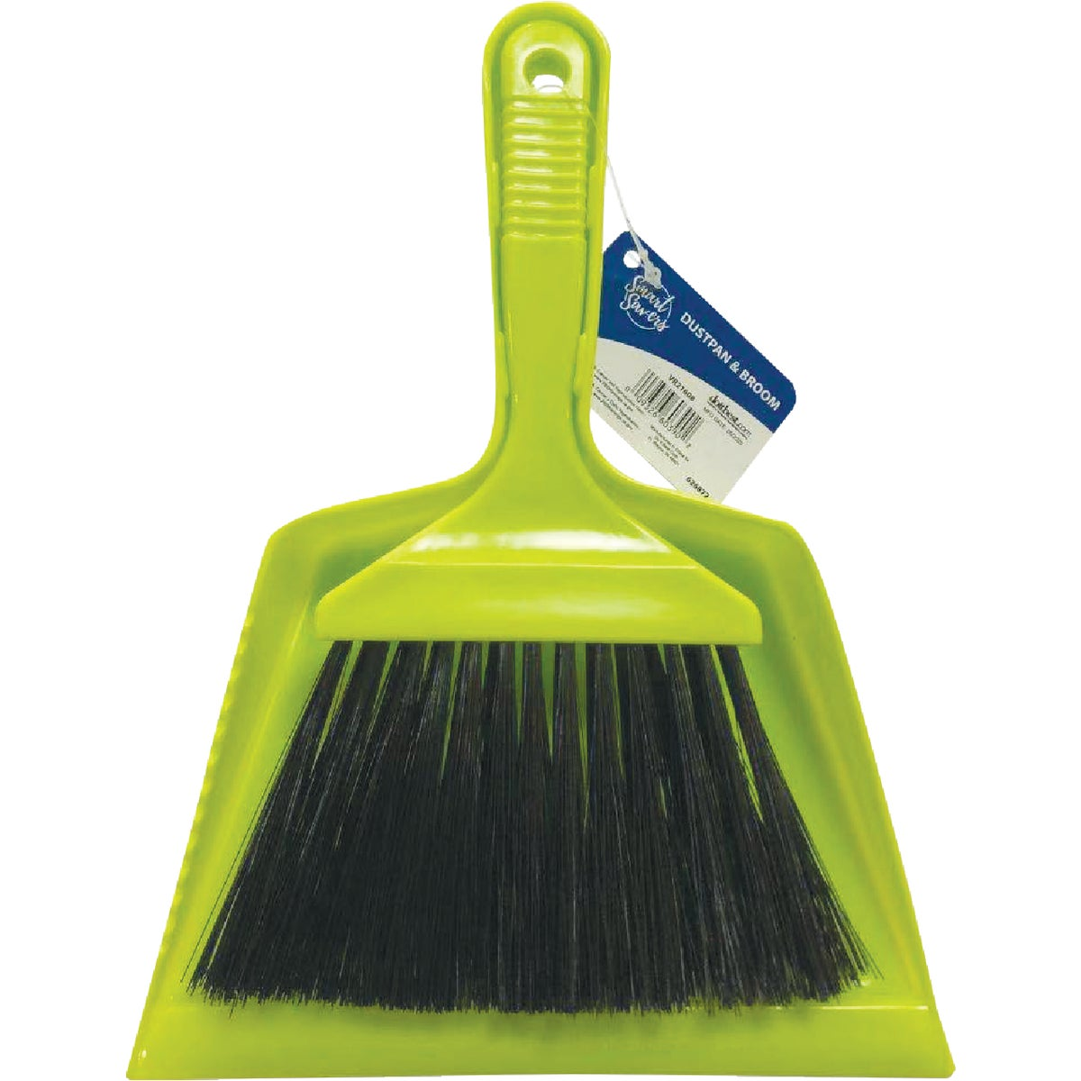 DUSTPAN AND BROOM